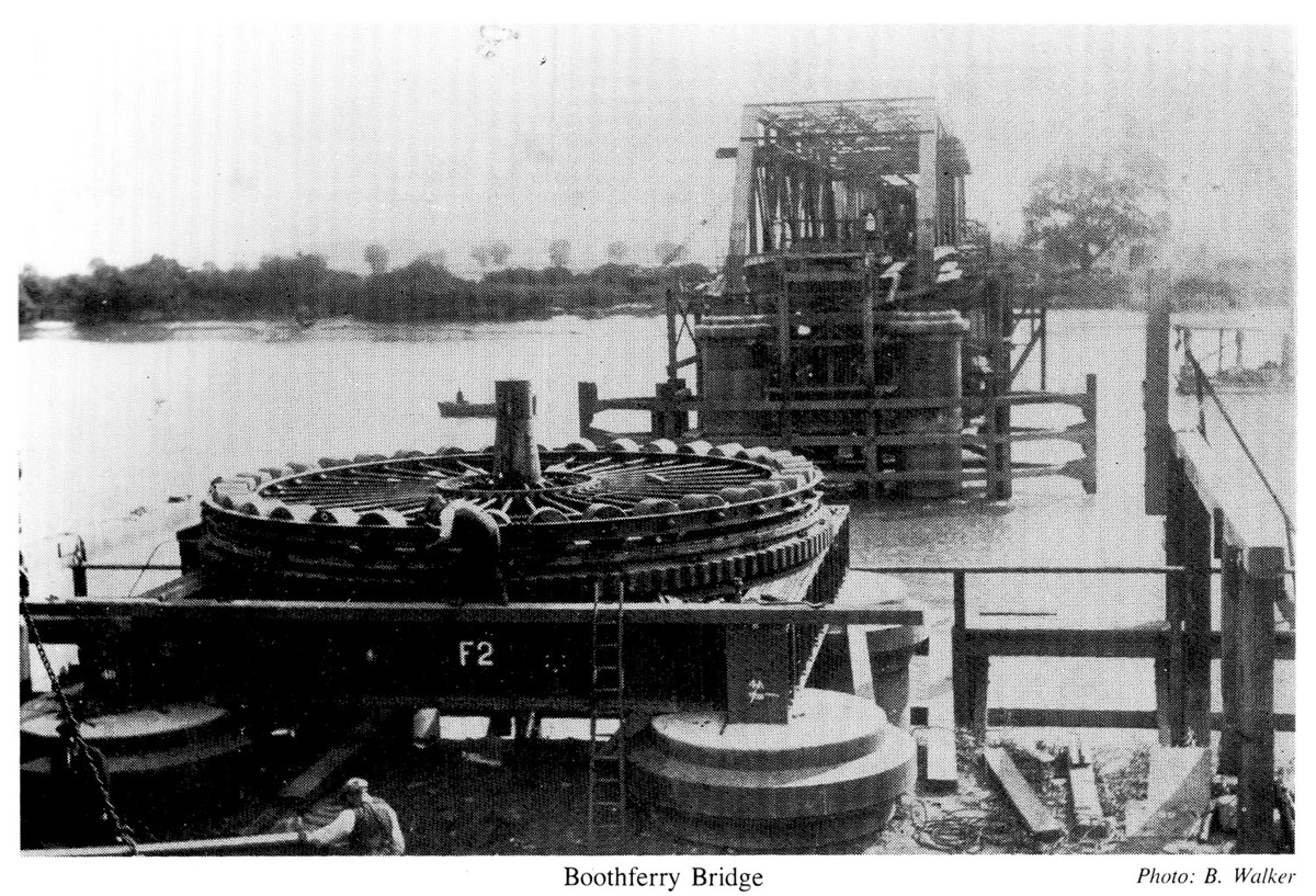 Boothferry Bridge Construction