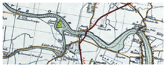 Boothferry Old Map 20th Century