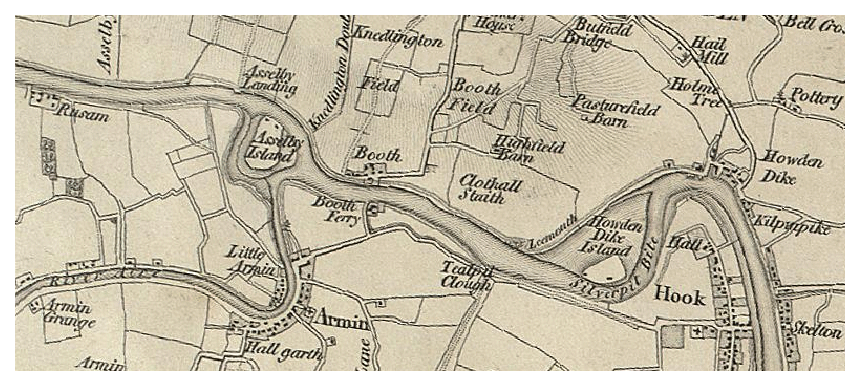 Boothferry Old Map 19th Century